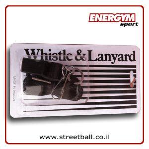 משרוקית עם שרוך – Whistle with Lanyard