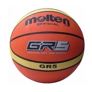 כדור כדורסל גומי –  Molten GR5