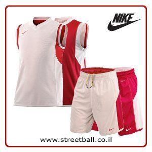 סט דו צדדי נייקי ילדים אדום – nike reversible basketball kid set