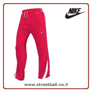 מכנס טרנינג נייקי כדורסל אדום – Nike Dri-Fit Long Pants