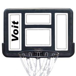 לוח סל שקוף דגם SBA007 + כדורסל מתנה